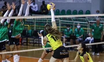 Volley League Γυναικών: Περίπατος ΠΑΟΚ πριν τον Ολυμπιακό, εύκολα ο Παναθηναϊκός
