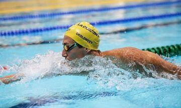 Κριστιάν Γκολομέεβ: Νέο πανελλήνιο ρεκόρ στα 100μ. ελεύθερο