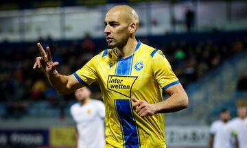 ΑΕΛ - Αστέρας Τρίπολης: Το 0-1 από τον Μπαράλες (vid)