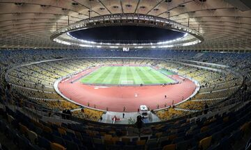 Champions League: Πάνω από 21.000 θεατές στο ολυμπιακό στάδιο του Κιέβου! (vid)
