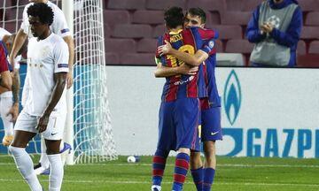 Παρθενικό γκολ του ντεμπιτάντ Πέδρι στο Champions League, 4-1 η Μπαρτσελόνα την Φερεντσβάρος (vid)