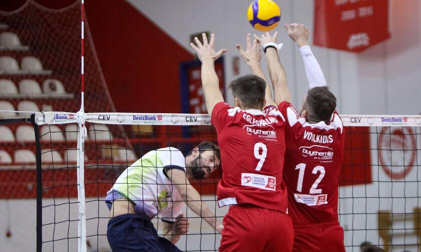 Volley League Ανδρών: Τη Δευτέρα στο Ζηρίνειο ο Ολυμπιακός - Το πρόγραμμα της 1ης αγωνιστικής