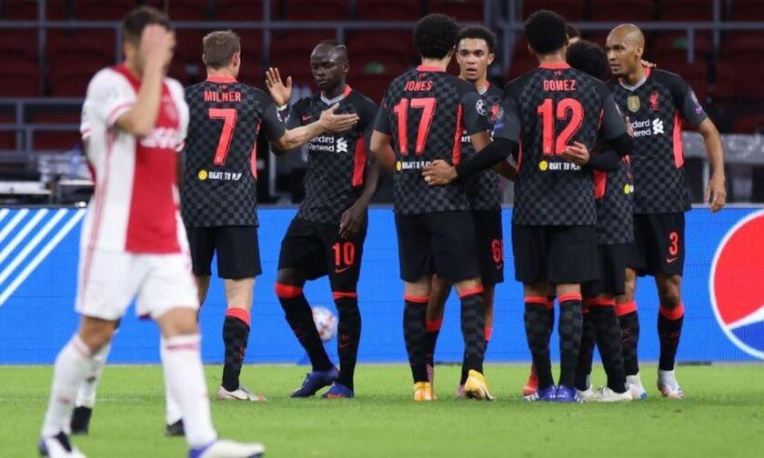 Άγιαξ - Λίβερπουλ: Το τυχερό γκολ των «κόκκινων» για το 0-1 (vid)
