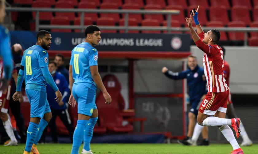 Ολυμπιακός - Μαρσέιγ 1-0: Το γκολ του Χασάν  (vid)