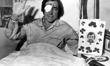 Όταν ο Γκόρντον Μπανκς «έχασε» σε τροχαίο το δεξί μάτι