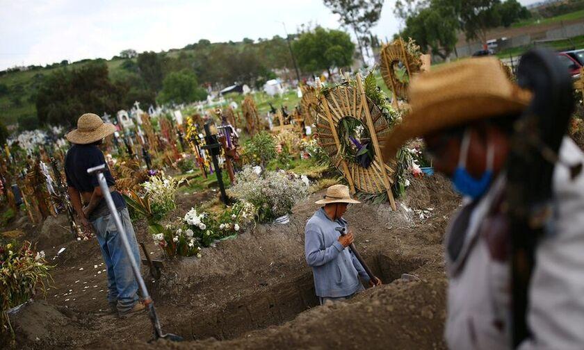 Μεξικό: 522 θάνατοι και 6.845 κρούσματα σε 24 ώρες