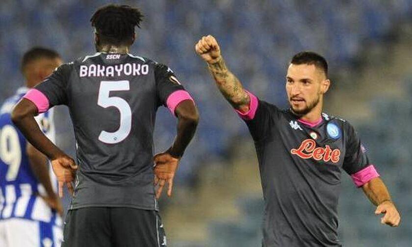 Europa League: «Απόλυτες» Άρσεναλ, Μπενφίκα κι Αλκμάαρ, ρέφαρε η Νάπολι στο «Ανοέτα» ( highlights)