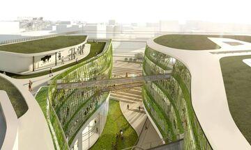 Το νέο κτίριο της Γενικής Γραμματείας Υποδομών - Αλλάζει την Πειραιώς (vid-pics)
