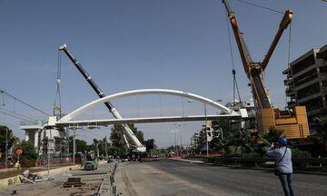 Άλιμος: Η πεζογέφυρα διαθέσιμη από την Παρασκευή 23 Οκτωβρίου! (vid)