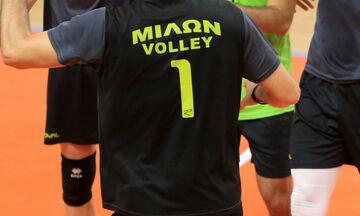 Volley League: Δεύτερο κρούσμα στον Μίλωνα - Θα γίνει το ματς με τον ΠΑΟΚ