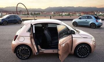 Νέο και πιο πρακτικό Fiat 500 Electric 3+1