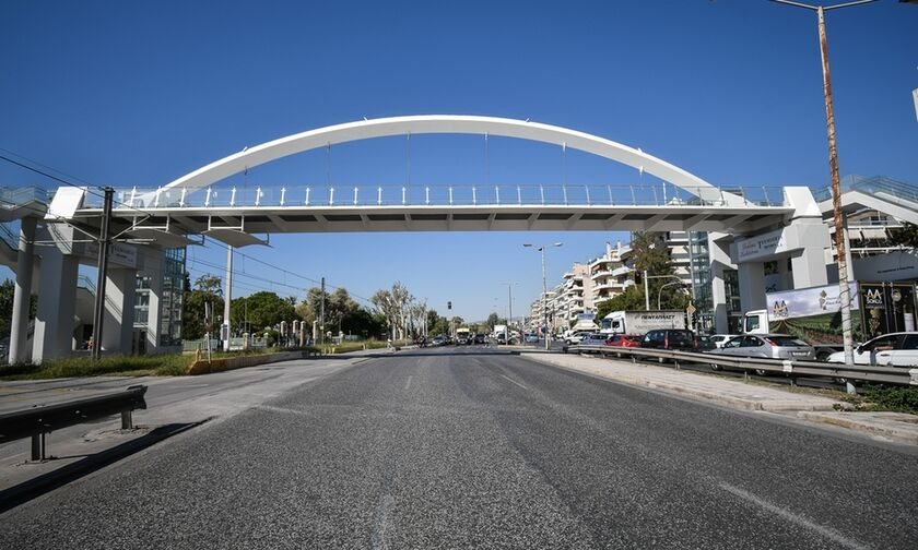 Άλιμος: Παραδόθηκε στους πολίτες η πεζογέφυρα (pics)