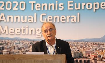 Ο Ζαννιάς εξελέγη στο διοικητικό συμβούλιο της Ευρωπαϊκής Ομοσπονδίας Τένις
