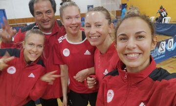 Πινγκ πονγκ: Διπλή νίκη για τις γυναίκες του Ολυμπιακού στην Α1