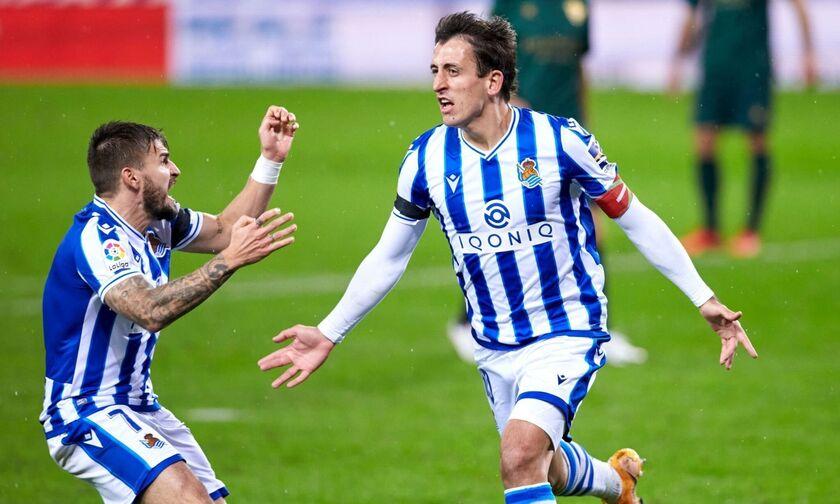 La Liga: Στην κορυφή με «τεσσάρα» η Ρεάλ Σοσιεδάδ (highlights)!