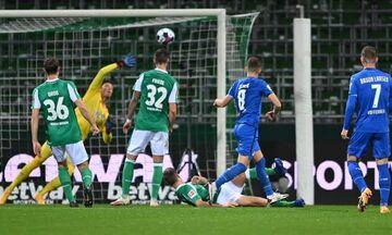 Bundesliga: Μοιρασιά στη Βρέμη μεταξύ Βέρντερ και Χόφενχαϊμ (highlights)!