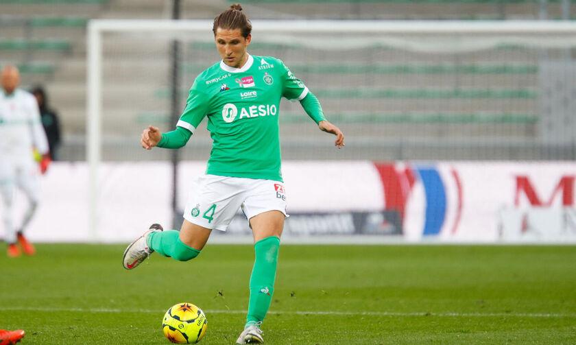 Aποχώρησε τραυματίας ο Ρέτσος στην ήττα της Σεντ Ετιέν με 2-0 από τη Μετς