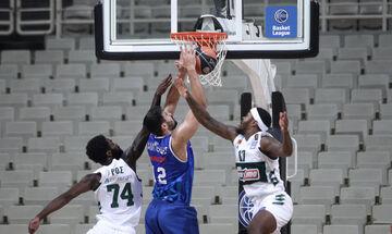 Παναθηναϊκός- Λάρισα 69-60: Κέρδισε, αλλά προβλημάτισε στην πρεμιέρα της Basket League