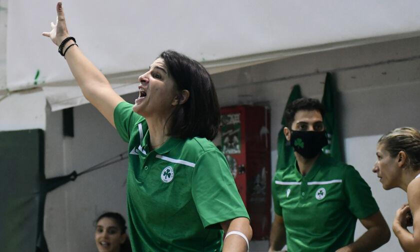 Καπογιάννη:«Σε τέτοια ματς παίζει ρόλο το πράσινο χρώμα, το τριφύλλι και η ιστορία του Παναθηναϊκού»