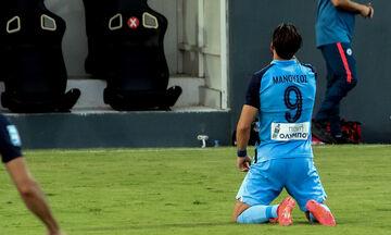 Ατρόμητος-Παναιτωλικός: Το πέναλτι του Μανούσου για το 1-0 (vid)
