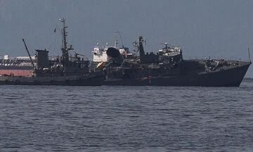Συγκλονιστικές εικόνες από το πλοίο «Καλλιστώ» - Συνελήφθη ο καπετάνιος του φορτηγού (vid-pics)