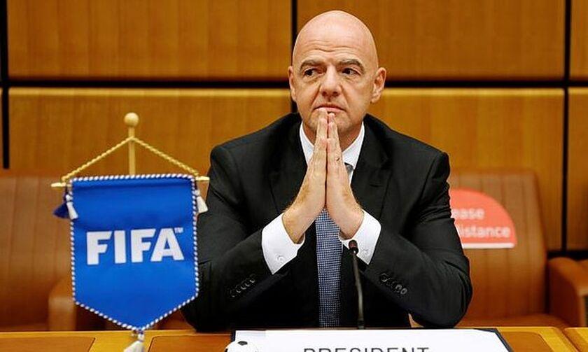 Θετικός στον κορονοϊό ο πρόεδρος της FIFA Τζιάνι Ινφαντίνο