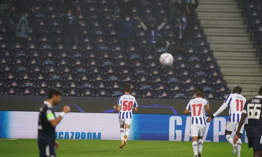 Πόρτο-Ολυμπιακός: Το λάθος του Μπουχαλάκη που έφερε το 1-0 με τον Βιεΐρά (vid)