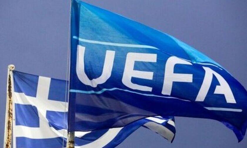 Βαθμολογία UEFA: Παρέμεινε στην 17η θέση η Ελλάδα (πίνακας)