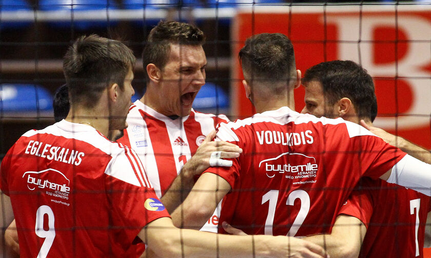 Volley League Ανδρών: Ξεκινάει το Σάββατο (31/10) με Ολυμπιακό η 2η αγωνιστική
