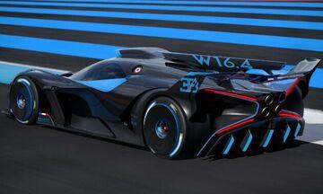 Πρωτόγνωρη κατασκευή η νέα Bugatti Bolide! (vid)