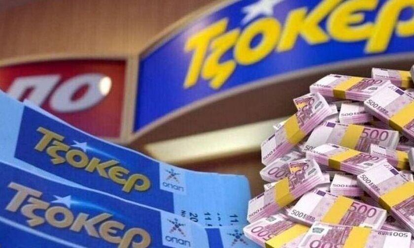 ΤΖΟΚΕΡ - Κλήρωση 2200: Αυτοί είναι οι τυχεροί αριθμοί που έδωσαν 600.000 ευρώ