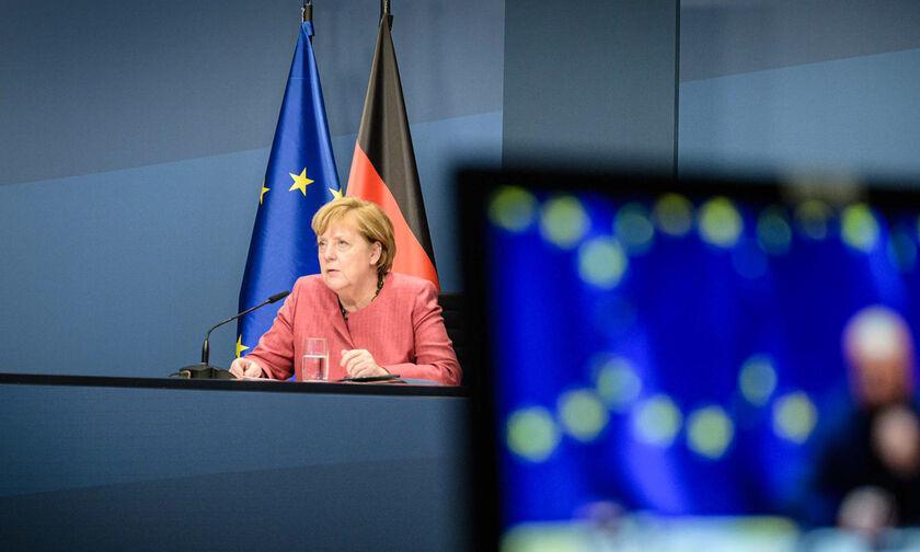 Η Μέρκελ ζήτησε από τους Ευρωπαίους ηγέτες άμεσα λοκντάουν