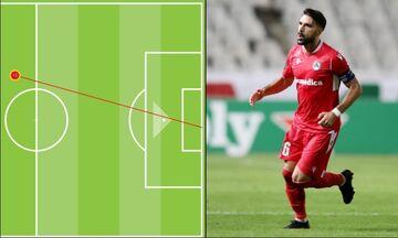 Ομόνοια- Aϊντχόφεν 1-2: Το γκολ του Γκόμεθ το πιο «μακρινό» στην ιστορία του Europa League (vid)