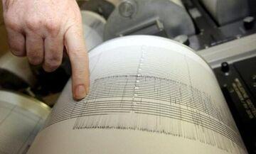 Σεισμός: Η θάλασσα μπήκε στη στεριά (vid)