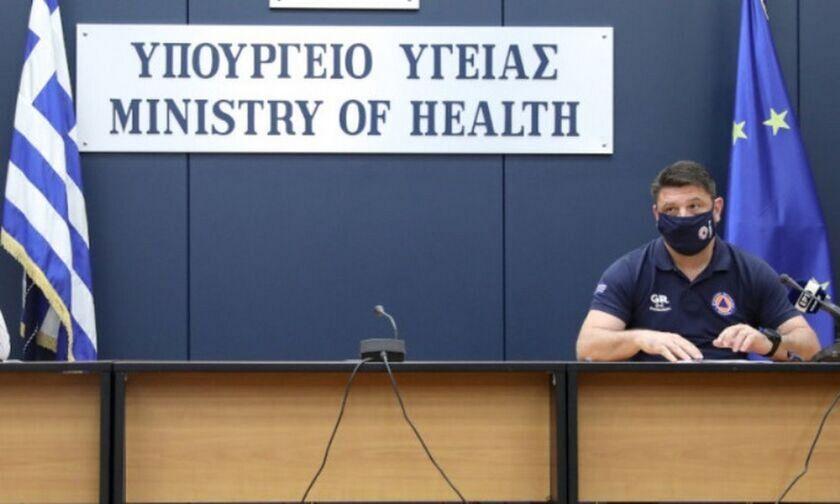 Δεν θα γίνει η ενημέρωση στο υπ. Υγείας λόγω του σεισμού - Ο Χαρδαλιάς στη Σάμο