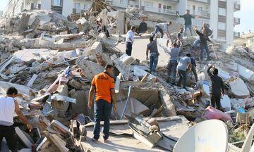 Σεισμός: Έξι νεκροί και 202 τραυματίες στη Σμύρνη (vid)