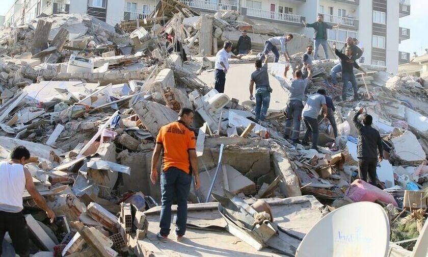 Σεισμός Τουρκία: 12 νεκροί και 419 τραυματίες