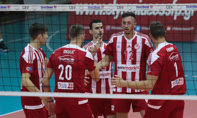 Volley League Ανδρών: Περίπατος Ολυμπιακού με τον Φίλιππο Βέροιας!