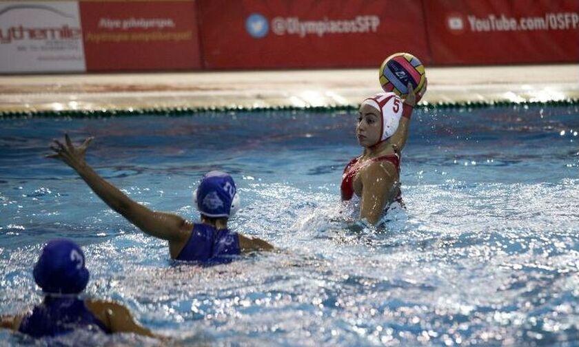 Ολυμπιακός-Γλυφάδα 17-7: Το 4/4 τα κορίτσια του Παυλίδη- Την Κυριακή (1/11) με Ρέθυμνο