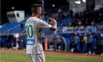 Λαμία-Παναθηναϊκός: Ο Καρλίτος κάνει το 2-0 για τους «πράσινους» (vid)