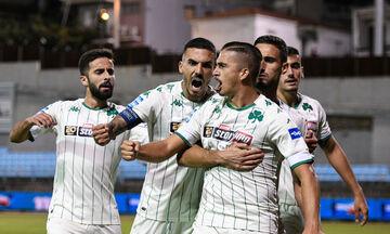 Λαμία- Παναθηναϊκός 0-2: «Έσπασε το ρόδι» με Καρλίτος (Highlights)