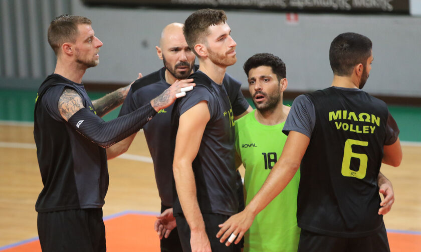 Volley League Ανδρών: Αναβλήθηκε το Μίλων-Φοίνικας, πρωινά τεστ και πιθανή διεξαγωγή την Κυριακή!