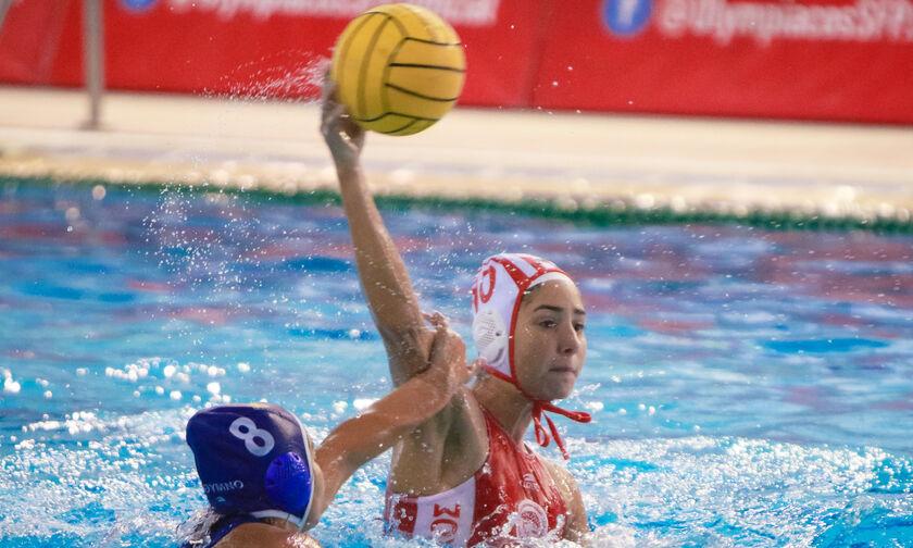 """Ολυμπιακός-Ρέθυμνο 18-5: Συνεχίζουν αήττητες οι """"ερυθρόλευκες""""!"""