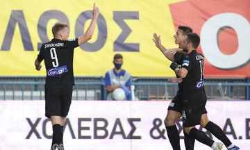 Παναιτωλικός-ΠΑΟΚ: Ο Σφιντέρσκι κάνει το 0-1 (vid)