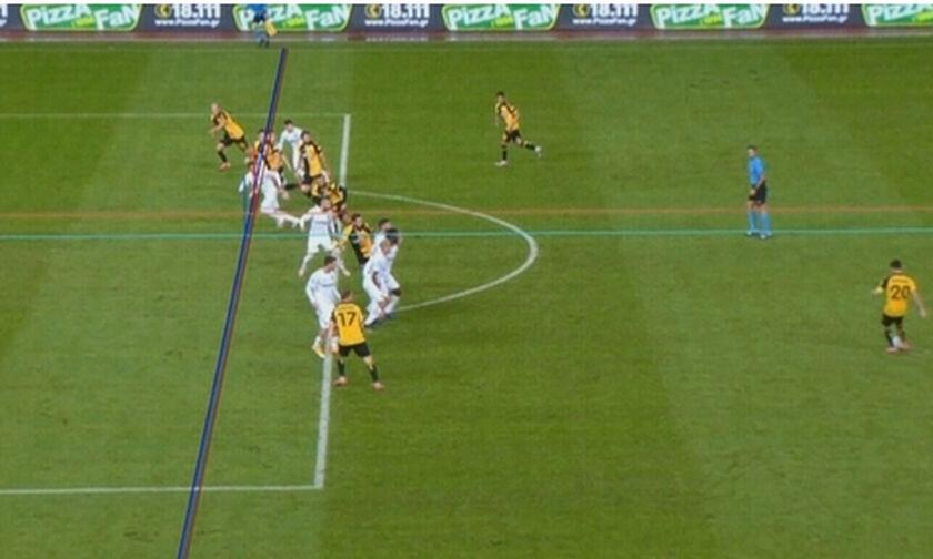 ΑΕΚ - ΟΦΗ: Το γκολ του Νεντελτσεάρου για το 1-1 (vid)