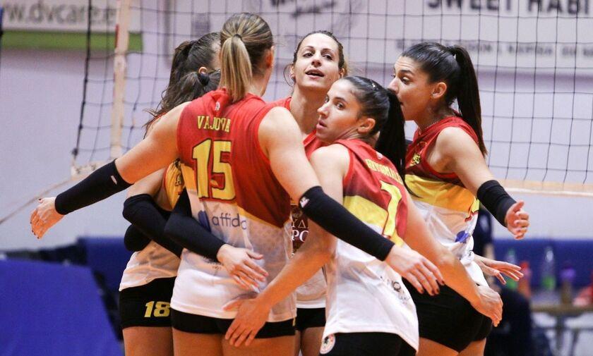 Volley League Γυναικών: Δεύτερη νίκη οι Αμαζόνες, πρώτο σετ για Λαμία!