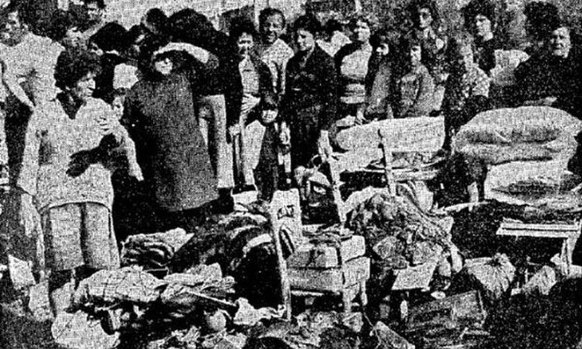 Η φονική καταιγίδα στην Αθήνα το 1977