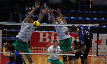 Volley League Ανδρών: «Καθαρό» διπλό του Παναθηναϊκού στην Κηφισιά