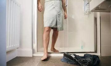 Προσοχή μετά το ντους: Το κρύο μπορεί να προκαλέσει αναφυλαξία!