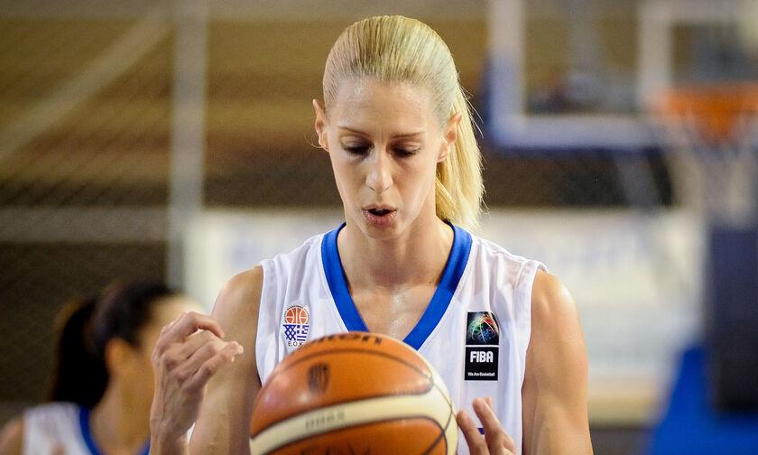 Εθνική Ομάδα μπάσκετ γυναικών: Θετική στον κορονοϊό η Σωτηρίου